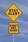 Não começ Hurt! Fotos de Stock Royalty Free