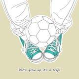 Não cresça acima 1 Ilustração do Vetor