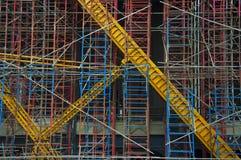 Não entre em uma zona da construção Imagens de Stock Royalty Free