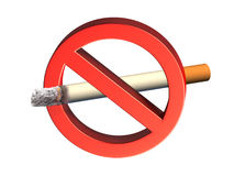 Não fumadores Fotografia de Stock Royalty Free