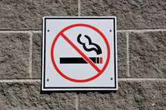 Não fumadores Fotos de Stock Royalty Free