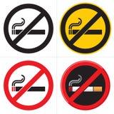 Não fumadores Foto de Stock Royalty Free