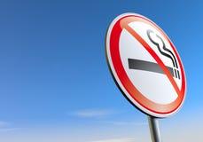 Não fumadores ilustração stock
