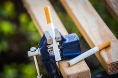 Não fumadores em aviões Foto de Stock