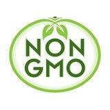 Não GMO Logo Icon Symbol Imagens de Stock