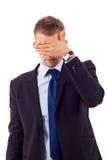 Não veja nenhum gesto mau Fotografia de Stock Royalty Free