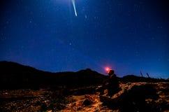 Nächtlicher Himmel stockfoto