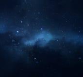Nächtlicher Himmel Lizenzfreie Stockfotografie