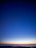 Nächtlicher Himmel Lizenzfreies Stockbild