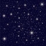 Nächtlicher Himmel vektor abbildung