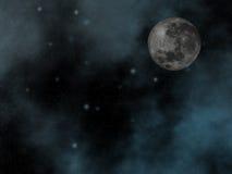 Nächtlicher Himmel mit Mond