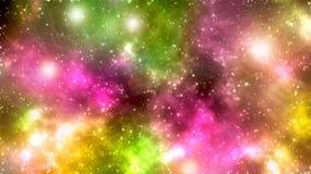 Nächtlicher Himmel mit vielen Sternen stockfotos