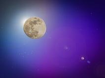 Nächtlicher Himmel mit vielen Sternen lizenzfreie stockfotos
