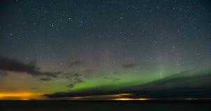 Nächtlicher Himmel und Sterne Lizenzfreie Stockfotos