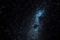 Nächtlicher Himmel voll der Sterne stockbild
