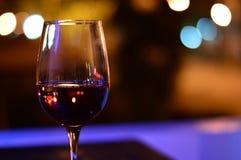 Nächtlicher Wein Stockfoto