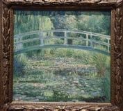 Näckrosdammet av Claude Monet, 1899 royaltyfri fotografi