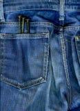 Nägel in der Tasche Stockfotos