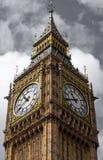 Näherer Blick von Big Ben Stockbilder