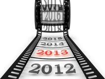 Nähern des neuen Jahres Lizenzfreies Stockbild
