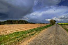 Nähernder Sturm Stockfoto