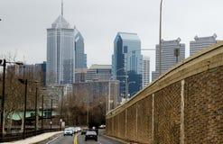 Näherndes Philadelphia Lizenzfreie Stockfotografie
