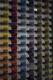 Nähgarnaussicht lizenzfreie stockbilder