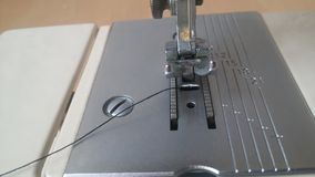 Nähmaschine - Detail lizenzfreies stockfoto