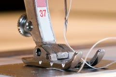 Nähmaschine-Fuß Stockfoto