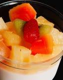 Nährbodentofu-Fruchtsalat Lizenzfreie Stockfotografie