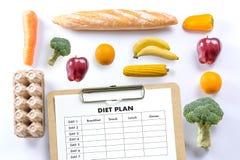 NÄHREN Sie PLANgesunde ernährung und nähren und abnehmen und wiegen Sie Verlust conce lizenzfreies stockbild