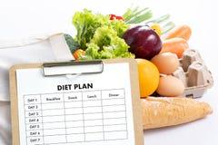 NÄHREN Sie PLANgesunde ernährung und nähren und abnehmen und wiegen Sie Verlust conce stockfotografie