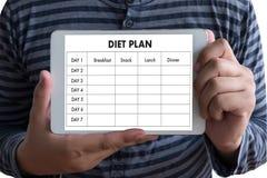 NÄHREN Sie PLANgesunde ernährung und nähren und abnehmen und wiegen Sie Verlust conce lizenzfreie stockfotografie