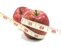 Nährende frische Äpfel der Frucht Lizenzfreies Stockbild