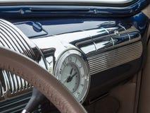 När bilar hade krom arkivfoto
