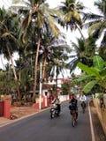 När Goa vaknar upp arkivbilder