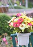 Nära övre bukett av blommor Royaltyfri Foto