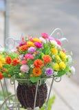 Nära övre bukett av blommor Royaltyfri Fotografi