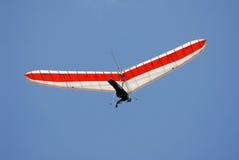 Nära övre för glidflygplan Royaltyfria Bilder