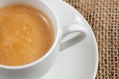 Nära övre för kaffe Arkivbilder