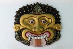 Nära övre för maskering, Yogyakarta Fotografering för Bildbyråer
