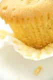 Nära övre för muffin Royaltyfri Bild