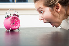 Alarmerat! fotografering för bildbyråer