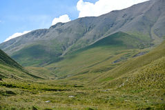 Nära Elbrusen arkivbild