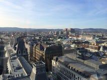 Nära foto Wien Arkivfoto