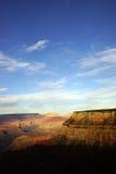 Nära Maricopa punkt sikt för sen eftermiddag in i Coloradofloden Royaltyfria Bilder