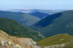 Nära Pico San Millà ¡ n & x28; Burgos Spain& x29; Royaltyfria Foton