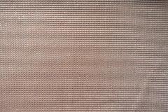 Nära sikt av gränsen - rosa polyestertyg Royaltyfri Bild