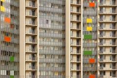 Nära sikt på residental byggnad Arkivbilder