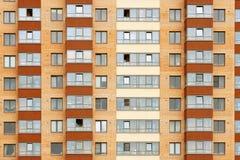 Nära sikt på residental byggnad Royaltyfri Foto